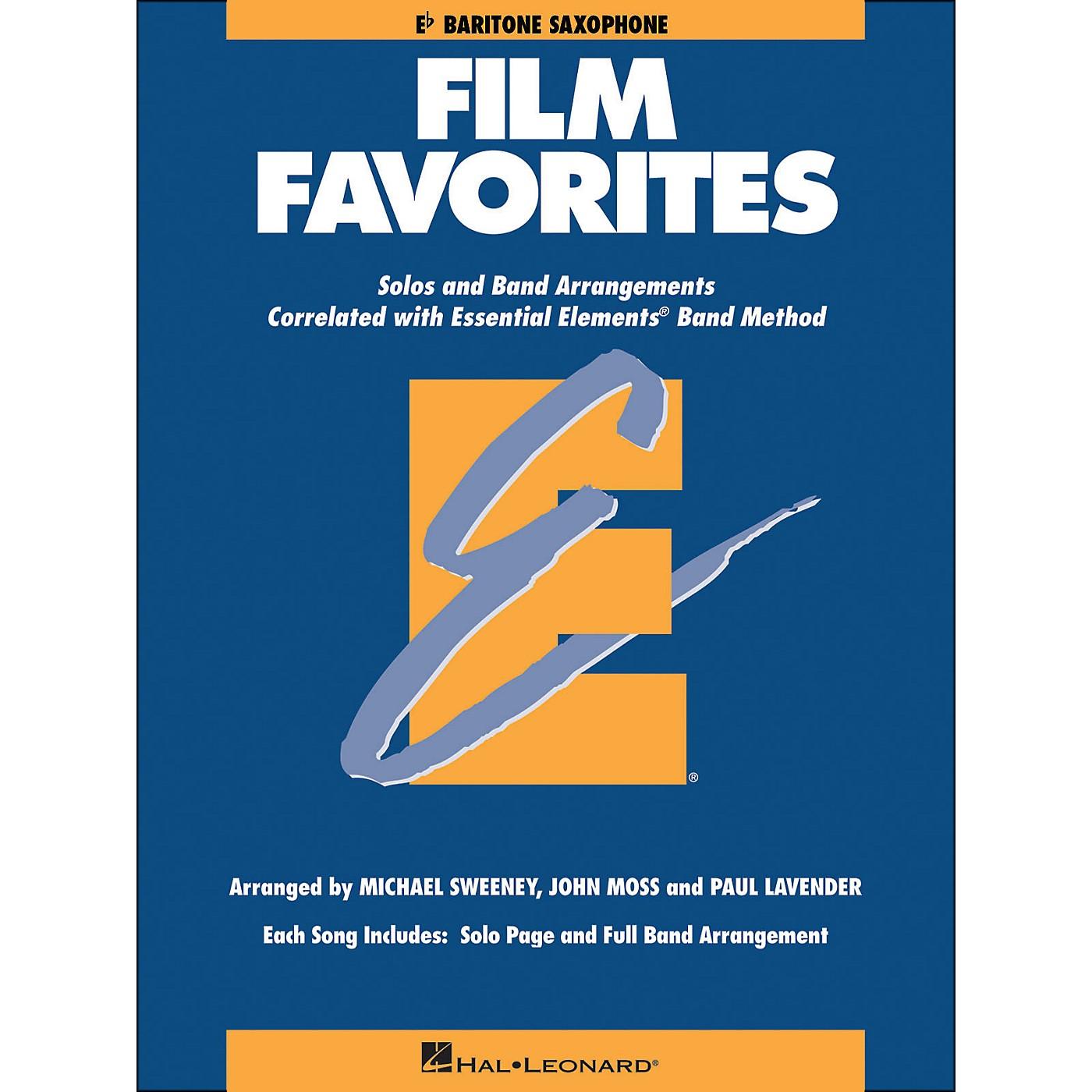 Hal Leonard Film Favorites E-Flat Baritone Saxophone thumbnail