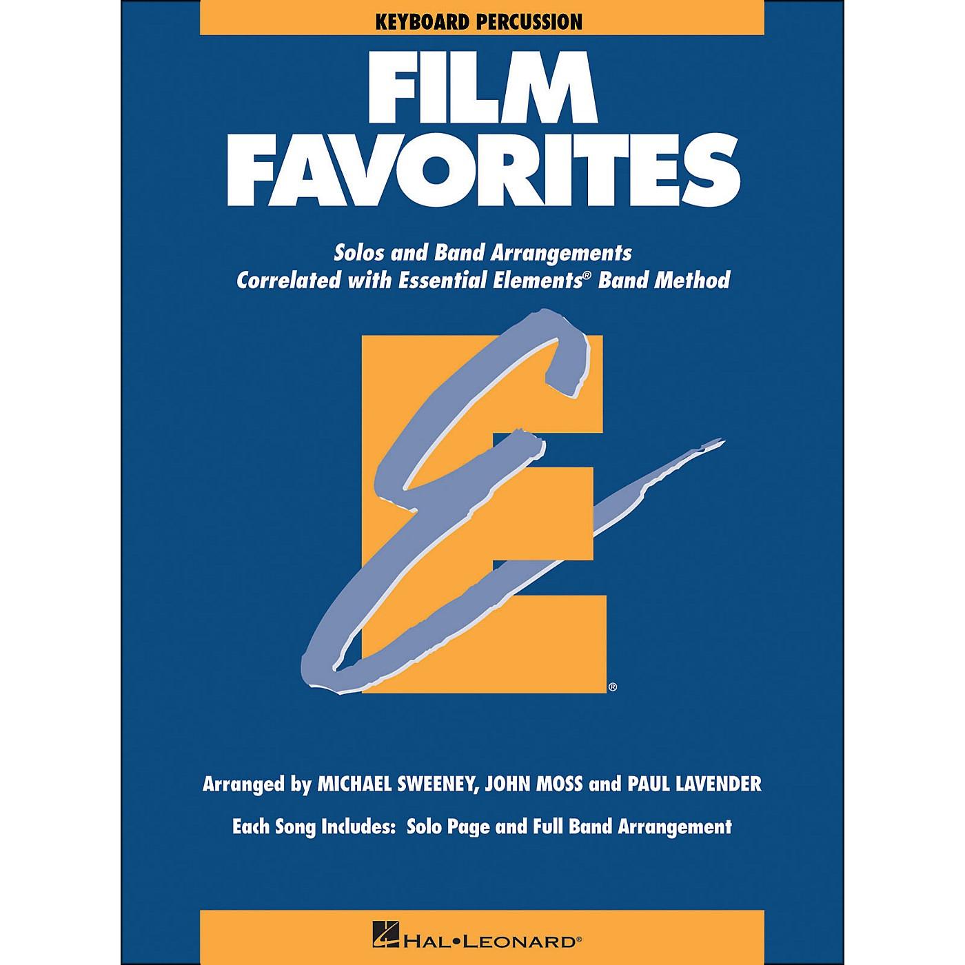 Hal Leonard Film Favorites Keyboard Percussion thumbnail