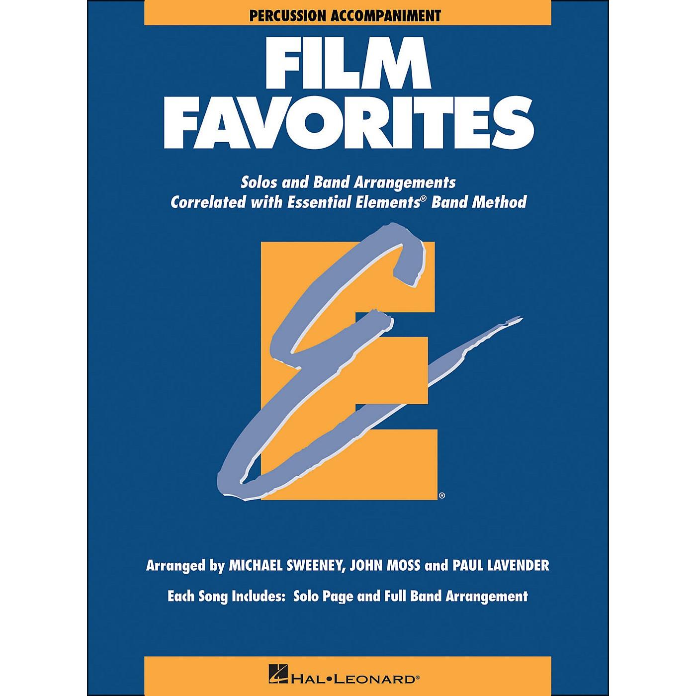 Hal Leonard Film Favorites Percussion thumbnail