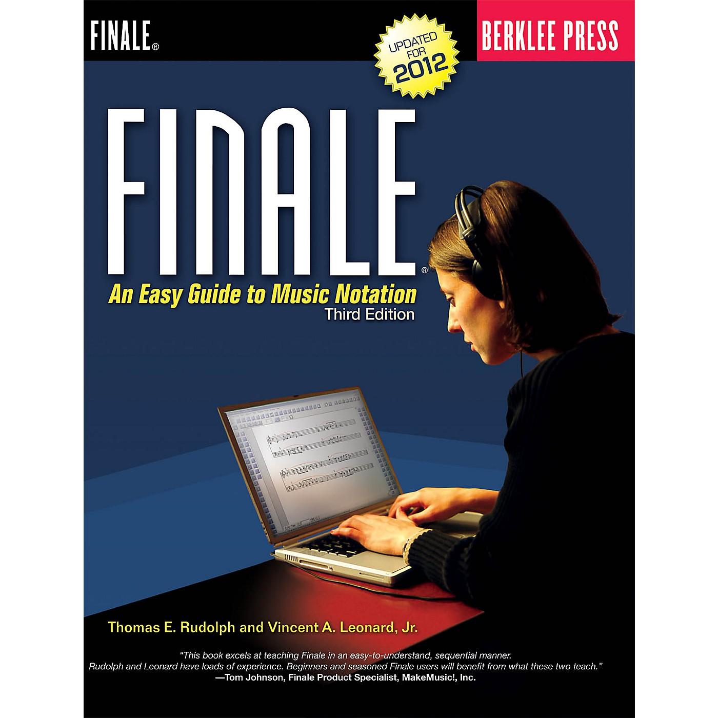 Berklee Press Finale Berklee Press Series Softcover Written by Thomas E. Rudolph thumbnail