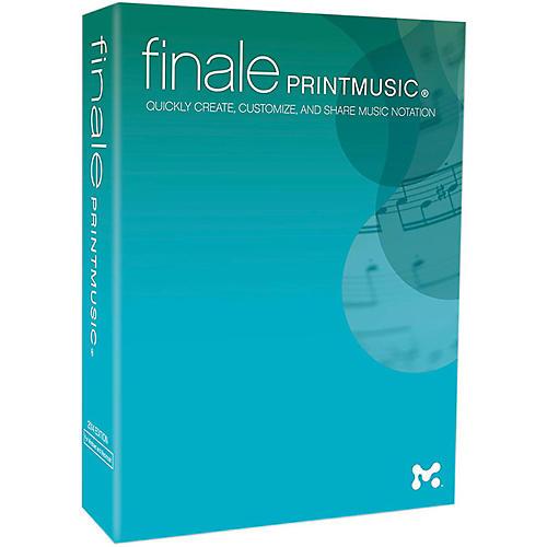 Makemusic Finale PrintMusic 2014 thumbnail