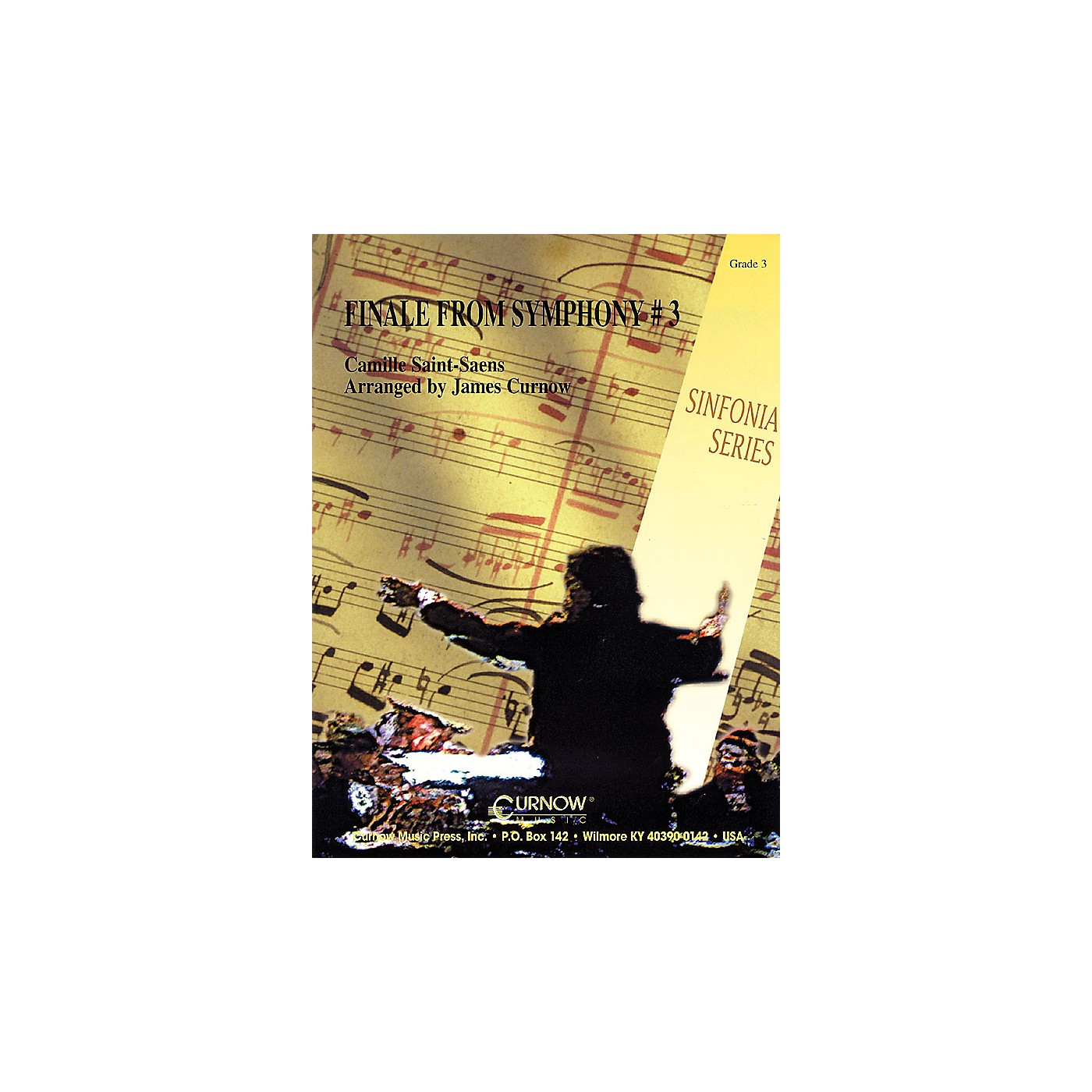 Curnow Music Finale from Symphony No. 3 (Grade 3 - Score Only) Concert Band Level 3 Arranged by James Curnow thumbnail