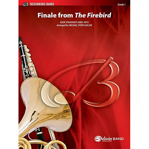 Alfred Finale from The Firebird Concert Band Grade 1 Set thumbnail