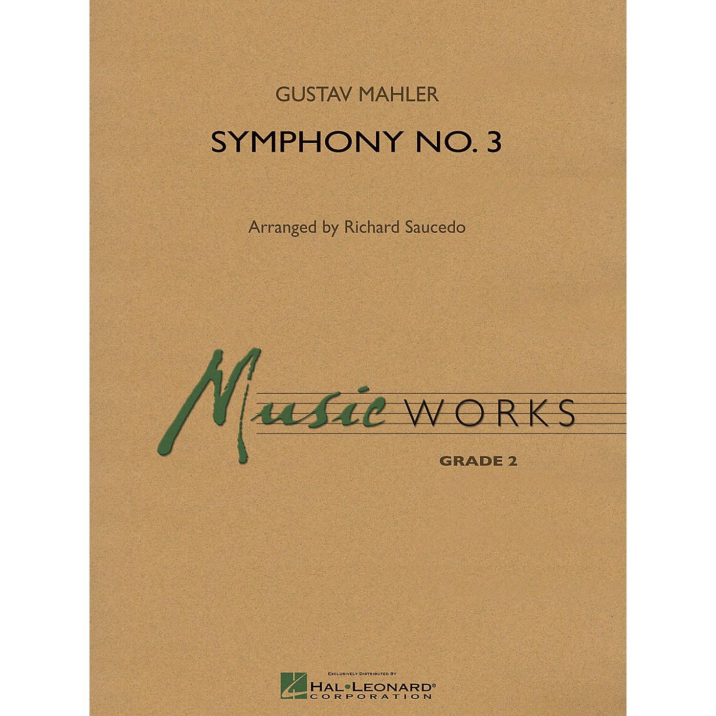 Hal Leonard Finale to Symphony No. 3 Concert Band Level 2 Arranged by Richard Saucedo thumbnail