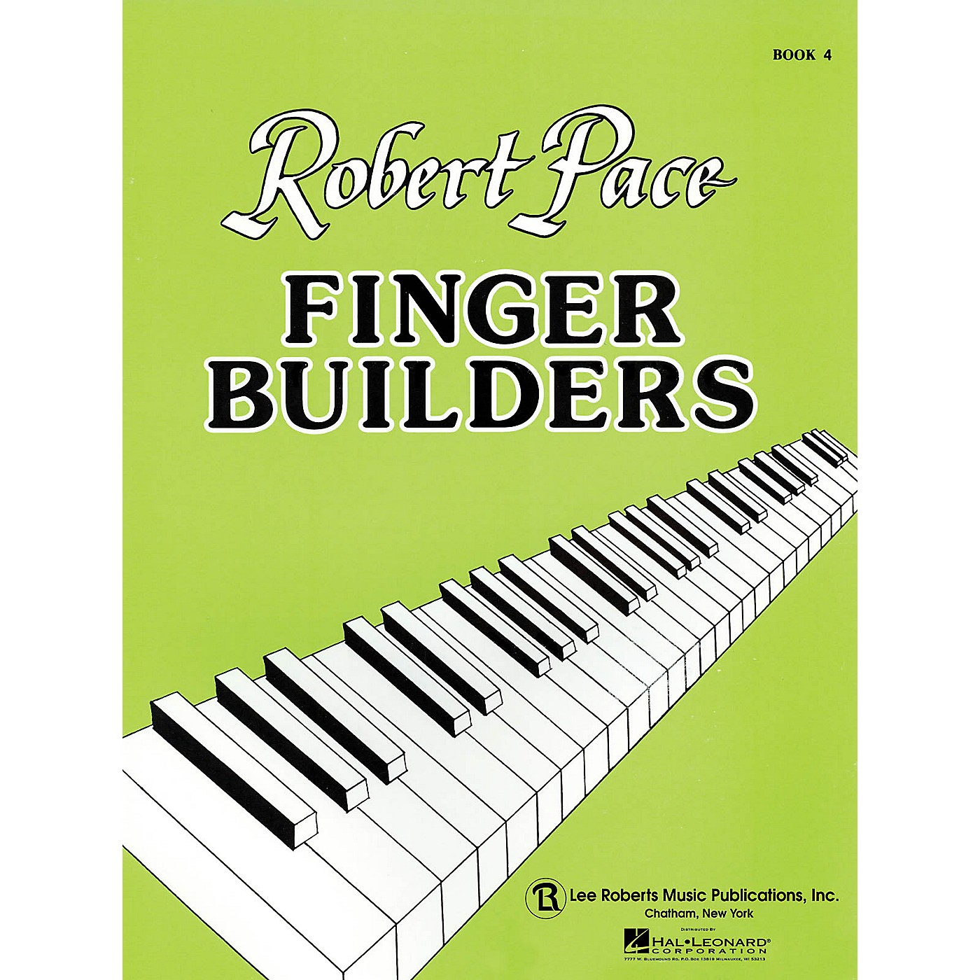 Lee Roberts Finger Builders (Book 4) Pace Piano Education Series Softcover thumbnail