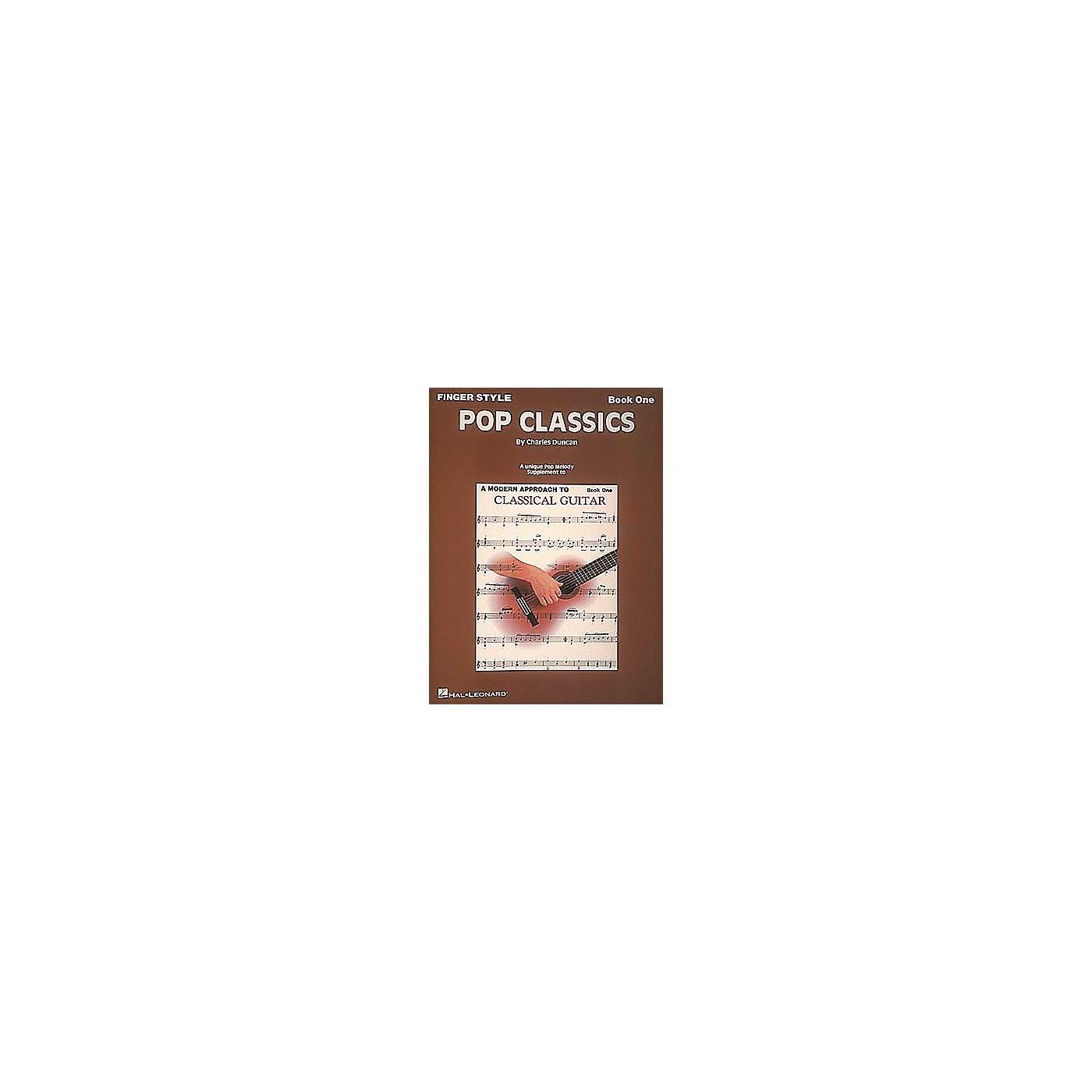 Hal Leonard Finger Style Pop Classics Standard Notation For Guitar Book thumbnail