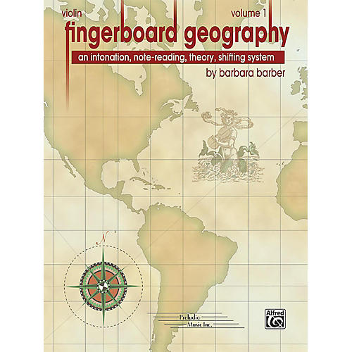 PRELUDIO Fingerboard Geography for Violin, Volume 1 thumbnail
