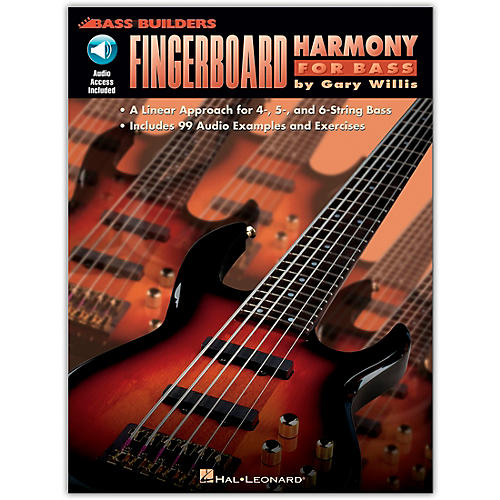 Hal Leonard Fingerboard Harmony for Bass (Book/Online Audio) thumbnail