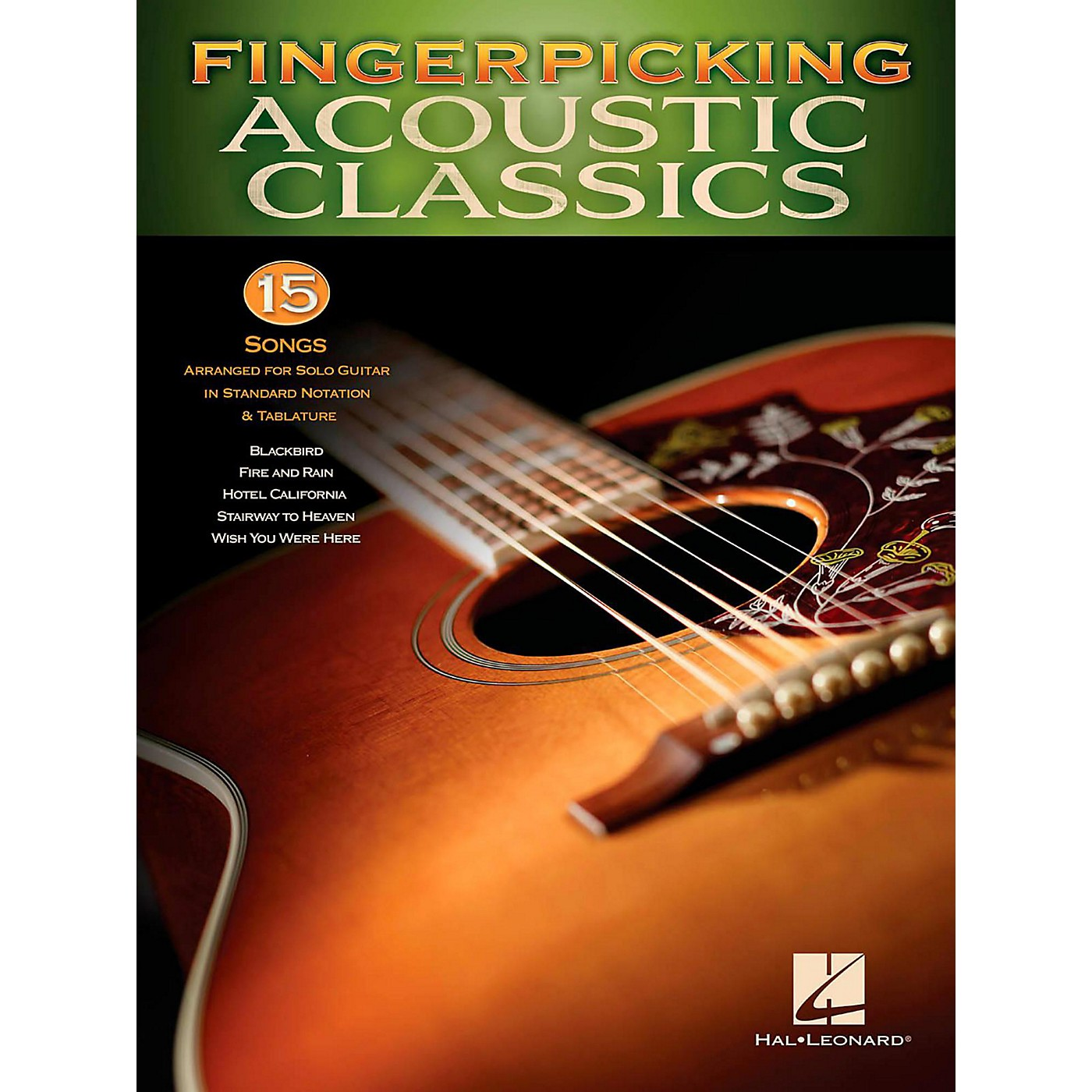 Hal Leonard Fingerpicking Acoustic Classics - 15 Songs Arr. For Solo Gtr In Standard Notation & Tab thumbnail