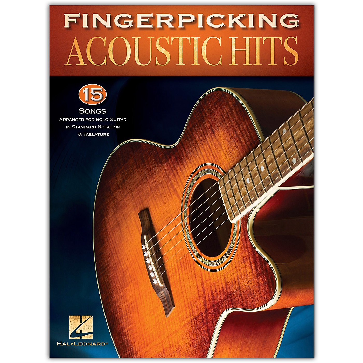 Hal Leonard Fingerpicking Acoustic Hits - 15 Songs Arranged for Solo Guitar in Standard Notation & Tab thumbnail