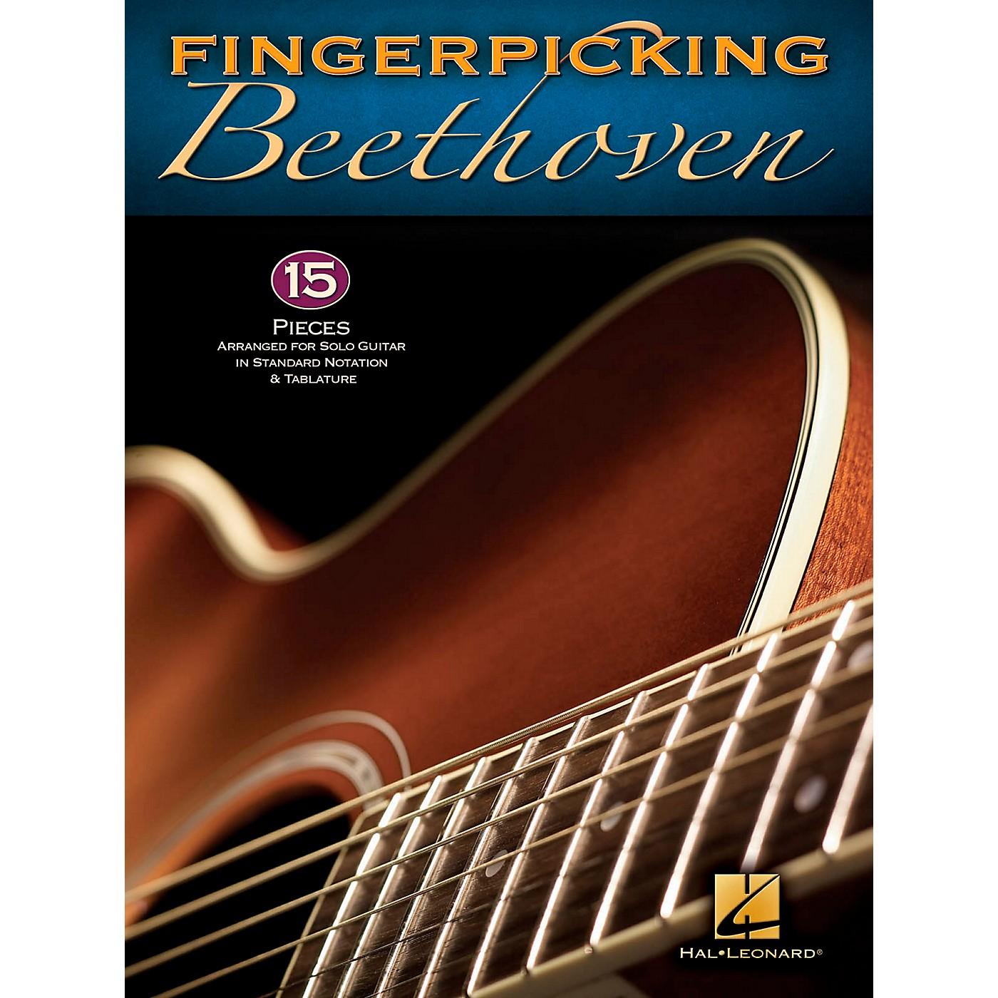 Hal Leonard Fingerpicking Beethoven for Solo Guitar - Standard Notation & Tab thumbnail