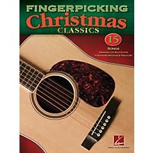 Hal Leonard Fingerpicking Christmas Classics Guitar Solo Series Softcover