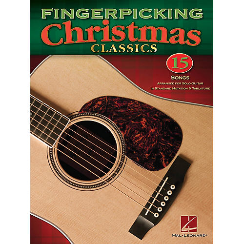 Hal Leonard Fingerpicking Christmas Classics Guitar Solo Series Softcover thumbnail
