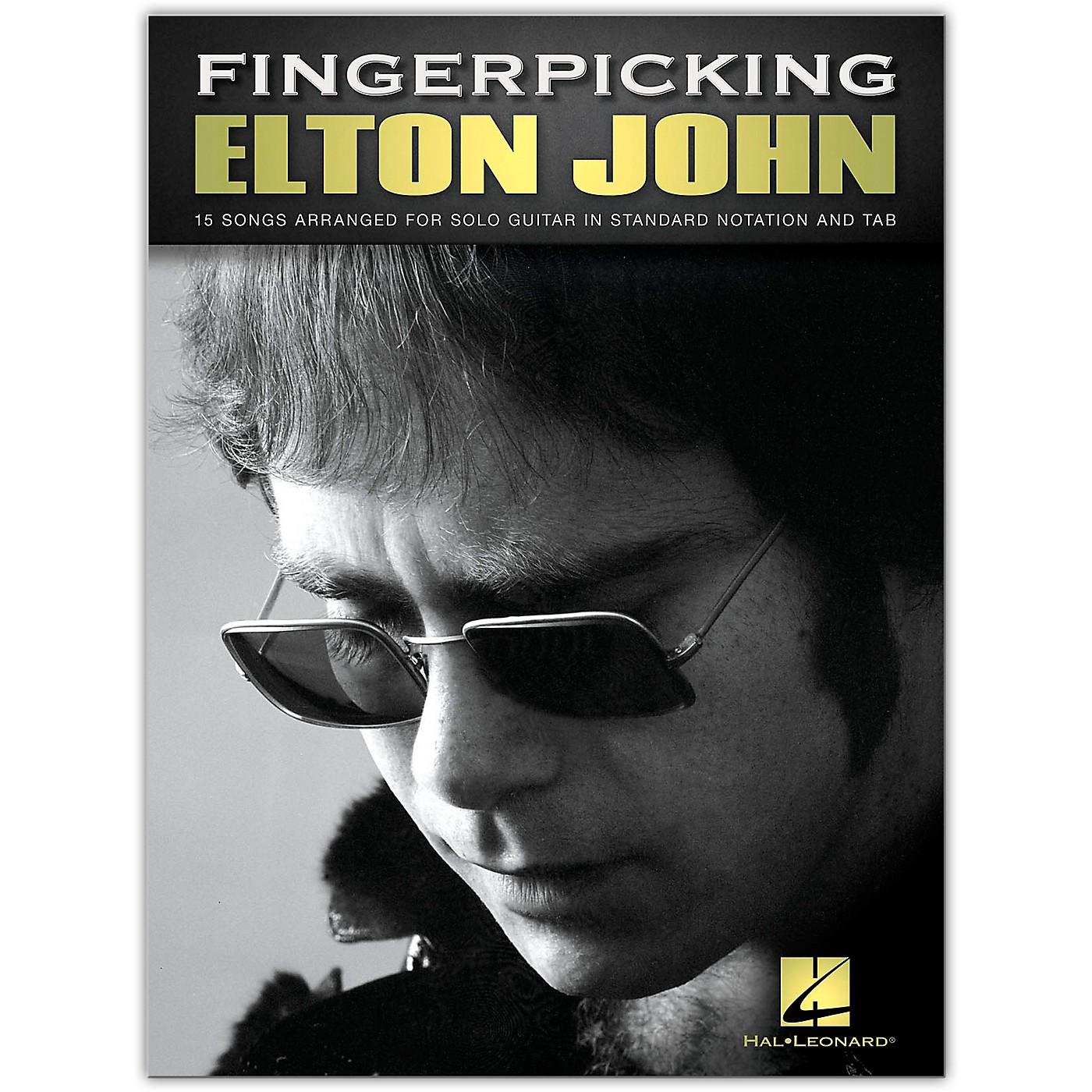 Hal Leonard Fingerpicking Elton John - 15 Songs Arranged for Solo Guitar thumbnail