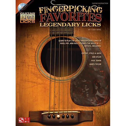 Hal Leonard Fingerpicking Favorites Legendary Licks Book/CD thumbnail