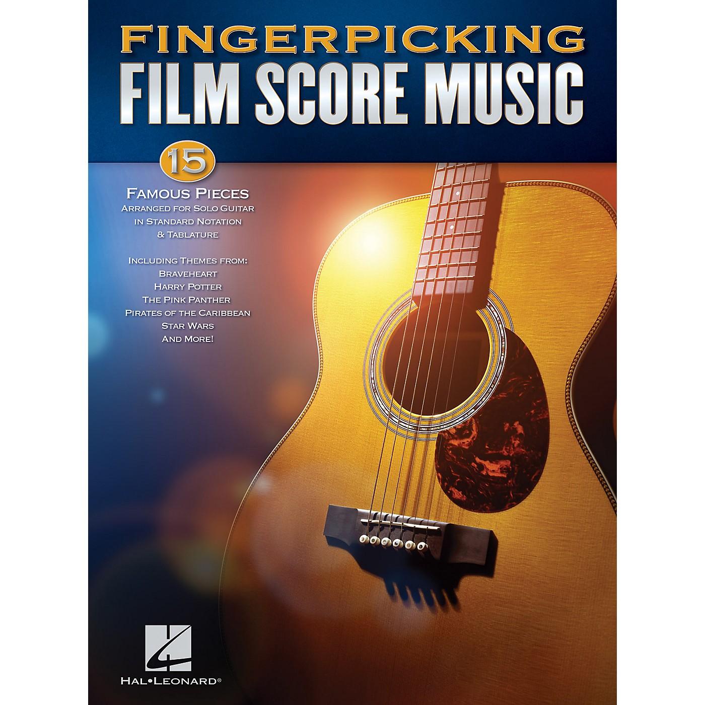 Hal Leonard Fingerpicking Film Score Music Solo Guitar Songbook thumbnail