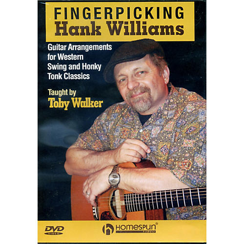 Homespun Fingerpicking Hank Williams DVD thumbnail