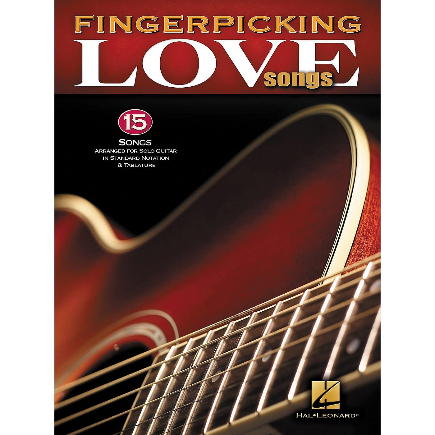 Hal Leonard Fingerpicking Love Songs Songbook thumbnail