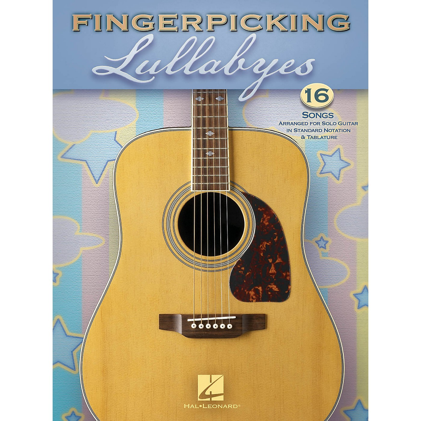 Hal Leonard Fingerpicking Lullabyes Guitar Solo Series Softcover thumbnail