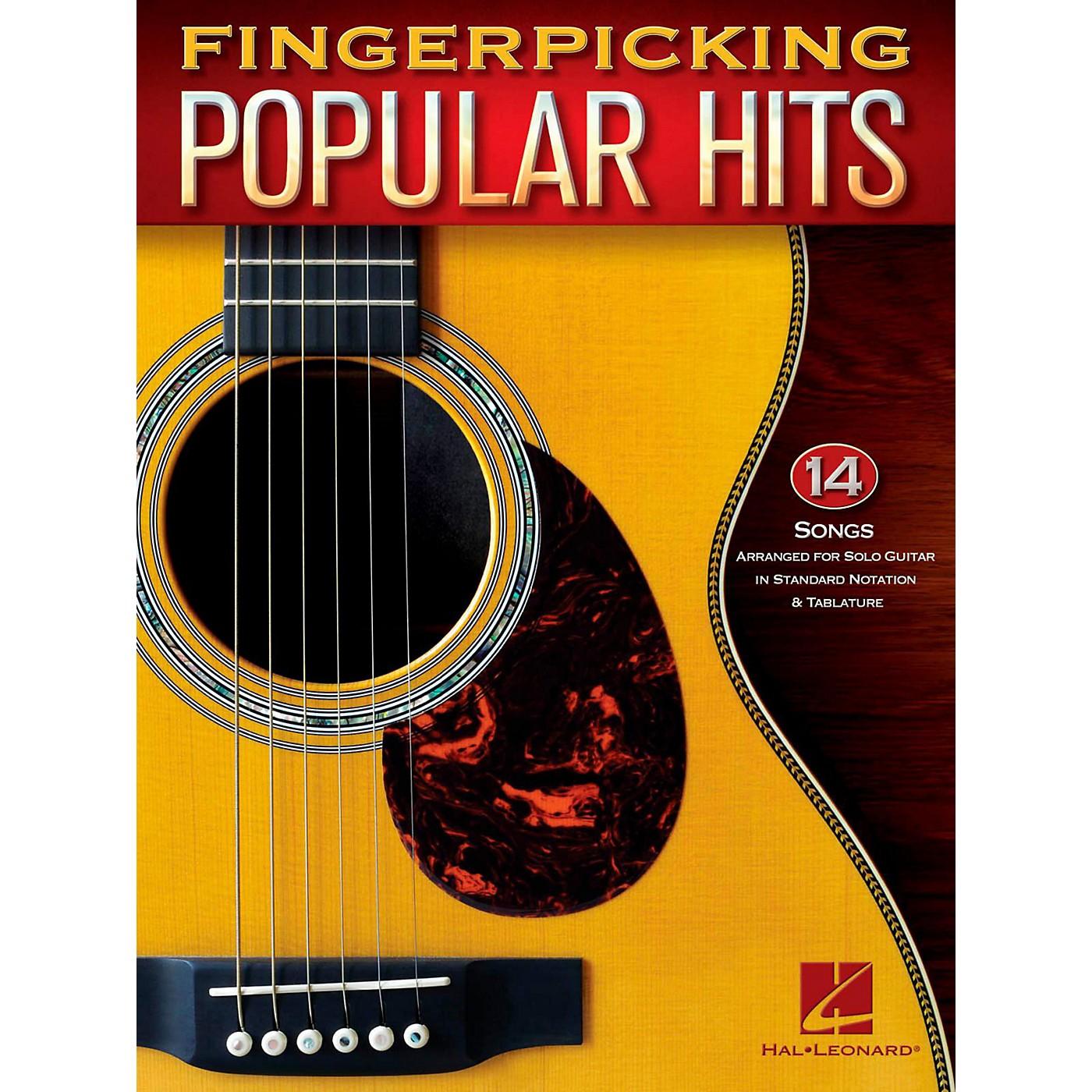 Hal Leonard Fingerpicking Popular Hits - 15 Songs Arr. For Solo Guitar in Standard Notation & Tab thumbnail