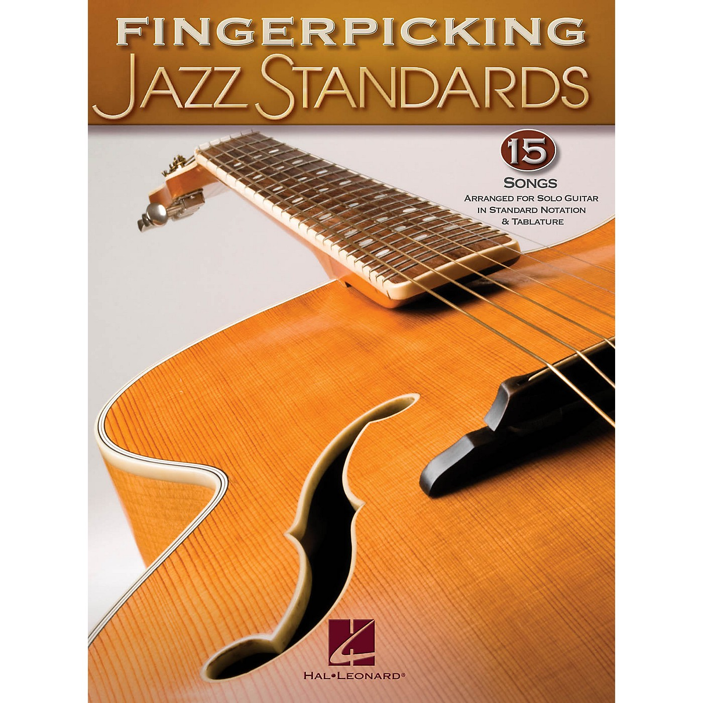 Hal Leonard Fingerpicking Standards 15 Songs Arranged For Solo Guitar In Standard Notation & Tab thumbnail