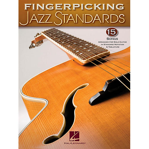 Hal Leonard Fingerpicking Standards 15 Songs Arranged For Solo Guitar In Standard Notation & Tab-thumbnail