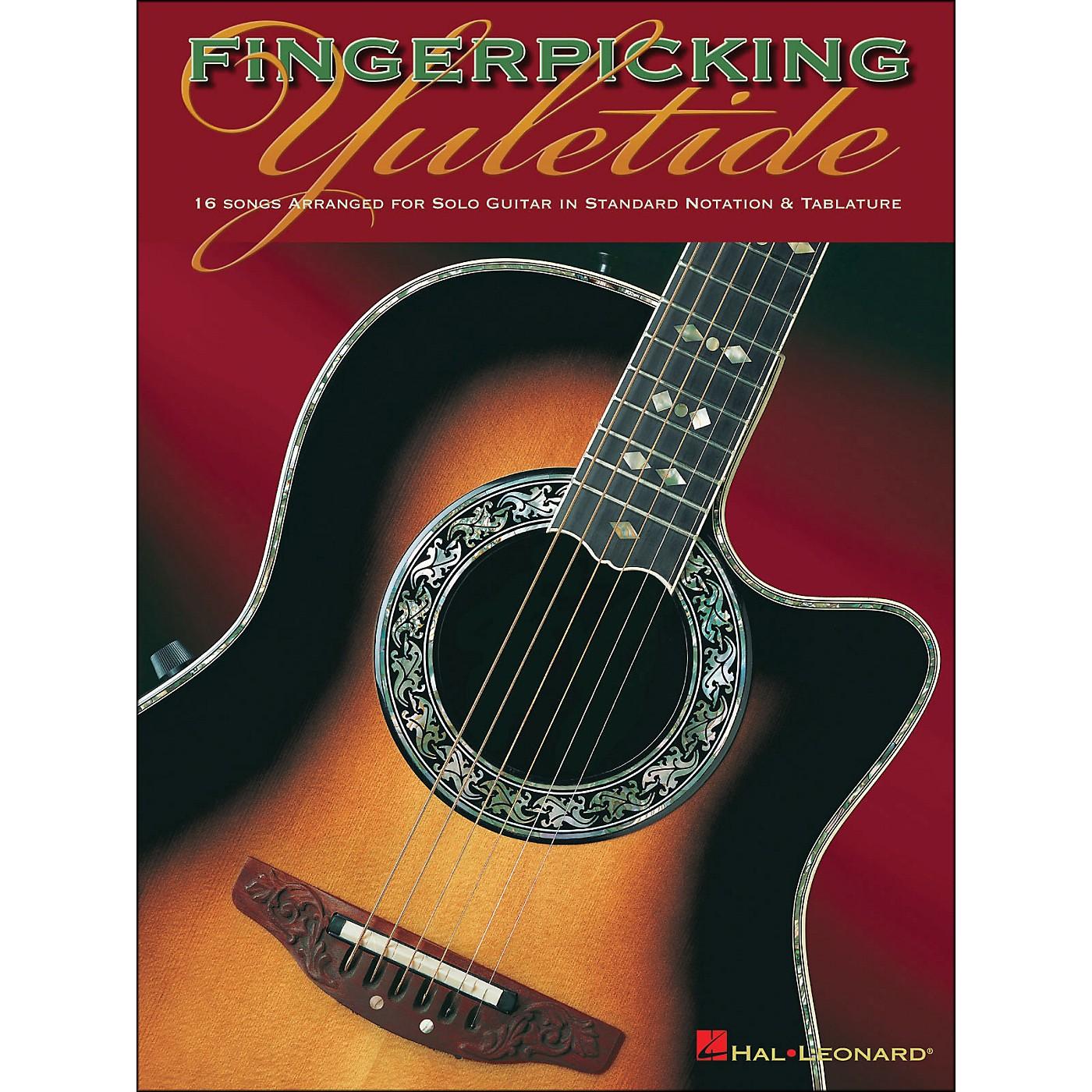 Hal Leonard Fingerpicking Yuletide Solo Guitar thumbnail