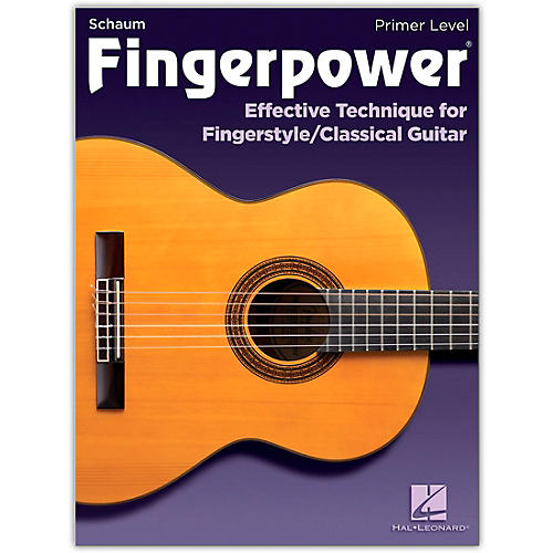 SCHAUM Fingerpower - Primer Level Effective Technique for Fingerstyle/Classical Guitar thumbnail