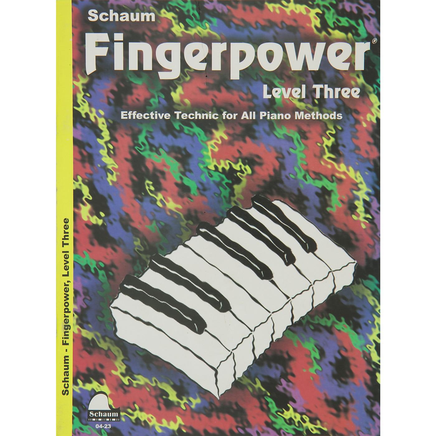 Hal Leonard Fingerpower Book Level 3 thumbnail