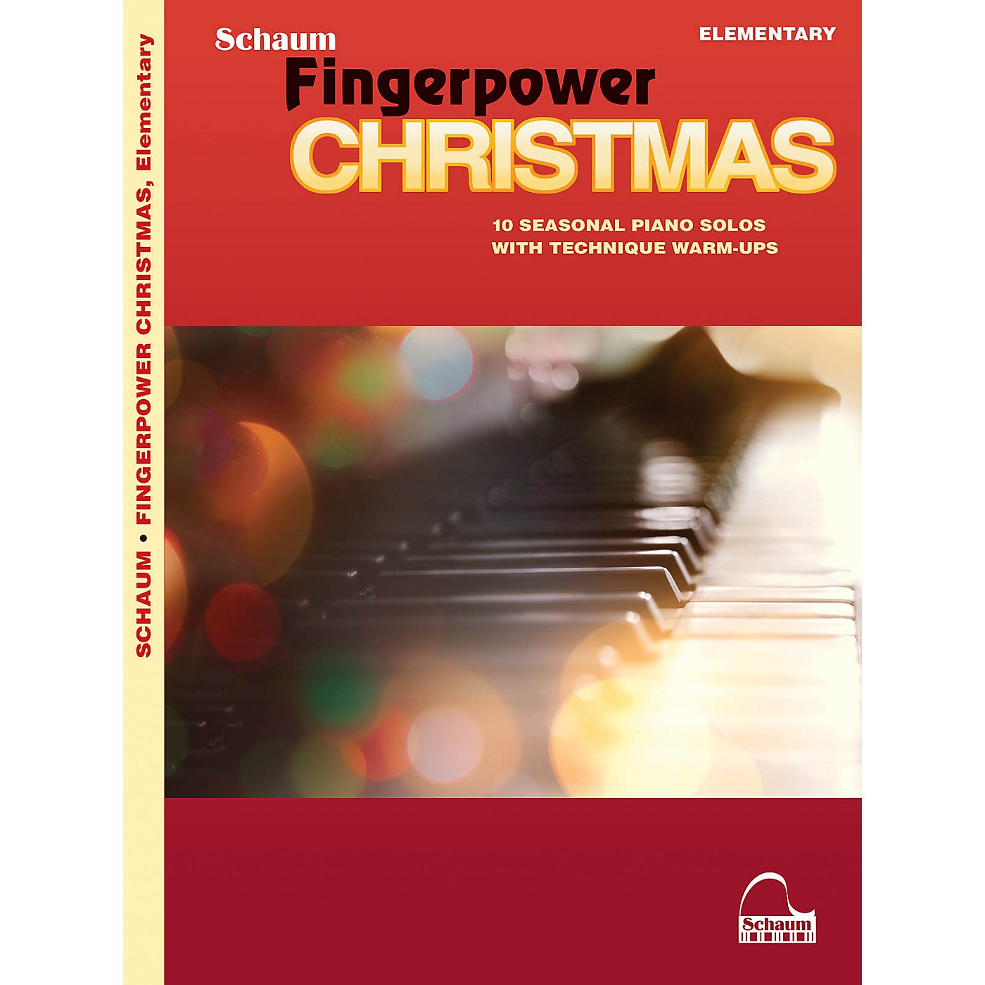 SCHAUM Fingerpower Christmas - 10 Seasonal Piano Solos with Technique Warm-Ups thumbnail