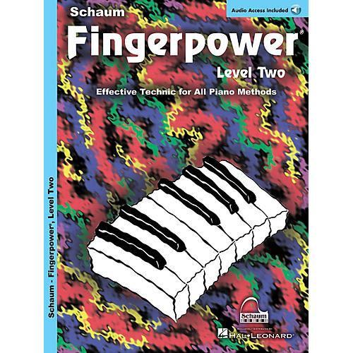 SCHAUM Fingerpower Educational Piano Series, Level 2 by John W. Schaum (Book/CD) thumbnail