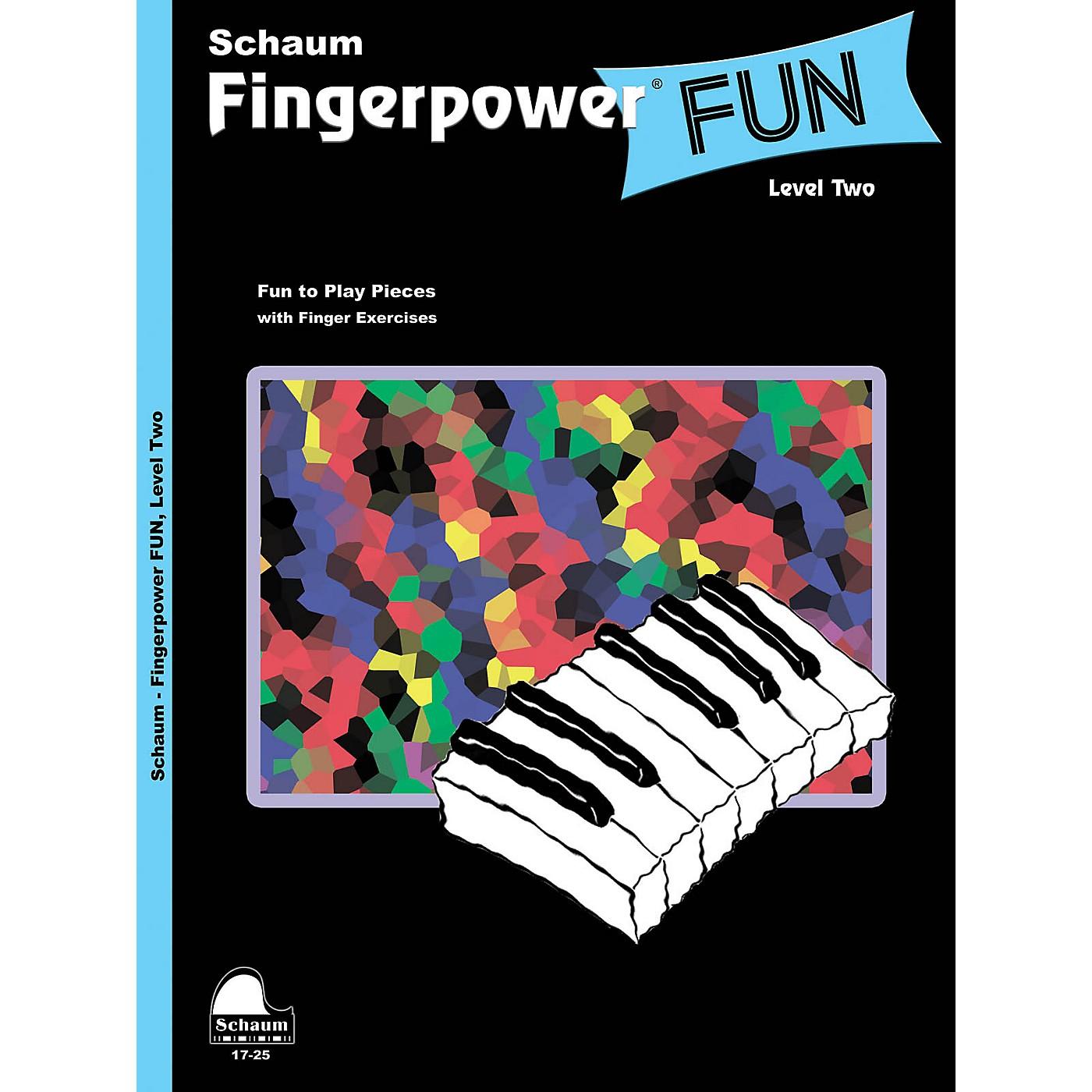 SCHAUM Fingerpower® Fun (Level 2 Upper Elem Level) Educational Piano Book thumbnail