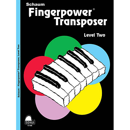 SCHAUM Fingerpower® Transposer Educational Piano Book by Wesley Schaum (Level Late Elem) thumbnail
