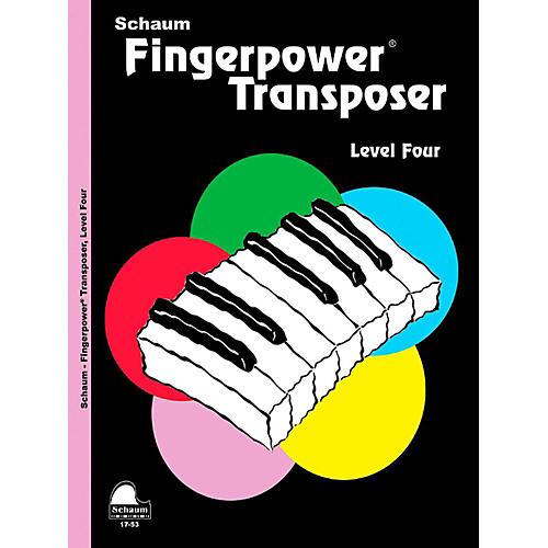 SCHAUM Fingerpower Transposer, Level Four - Intermediate thumbnail
