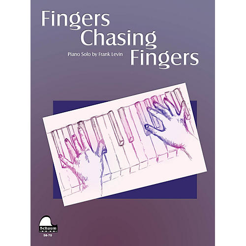 SCHAUM Fingers Chasing Fingers Educational Piano Series Softcover thumbnail