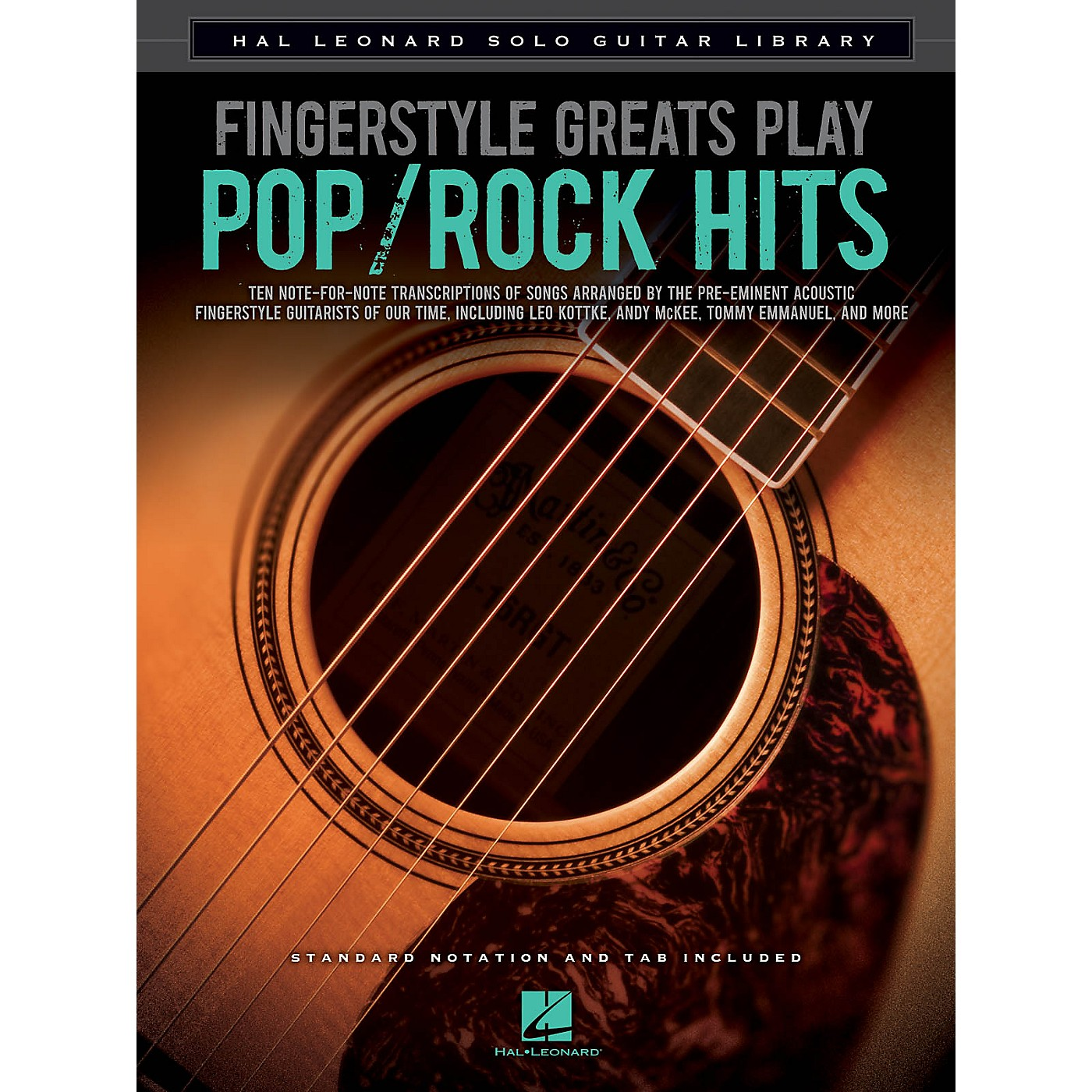 Hal Leonard Fingerstyle Greats Play Pop/Rock Hits Guitar Solo Series Softcover Performed by Various thumbnail