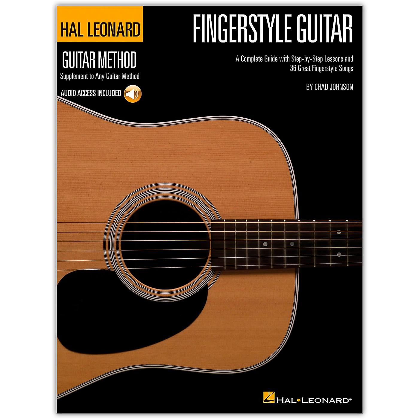 Hal Leonard Fingerstyle Guitar Method - Stylistic Supplement To The Hal Leonard Guitar Method (Book/Online Audio) thumbnail