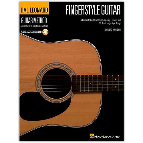Hal Leonard Fingerstyle Guitar Method - Stylistic Supplement To The Hal Leonard Guitar Method (Book/Online Audio)-thumbnail