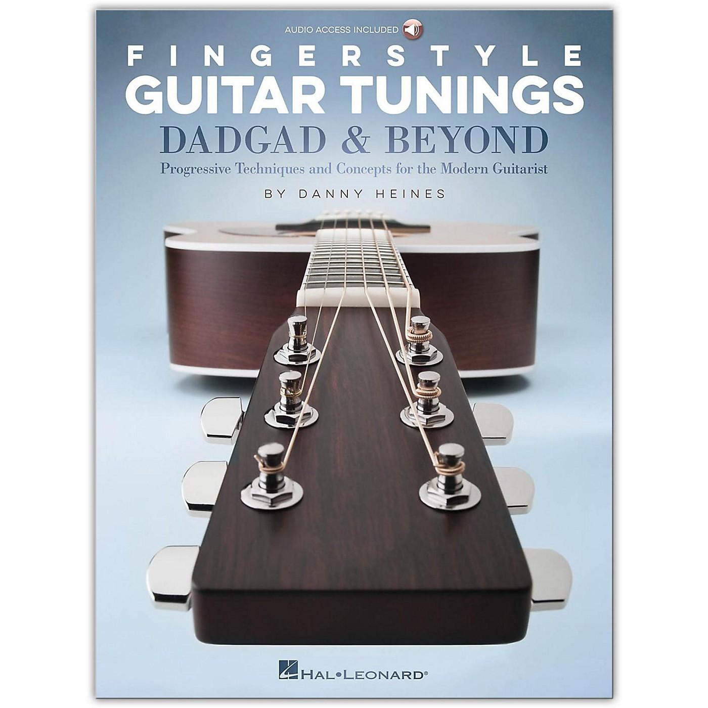 Hal Leonard Fingerstyle Guitar Tunings: DADGAD & Beyond (Book/Audio Online) thumbnail
