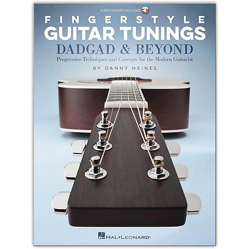 Hal Leonard Fingerstyle Guitar Tunings: DADGAD & Beyond (Book/Audio Online) thumbnail