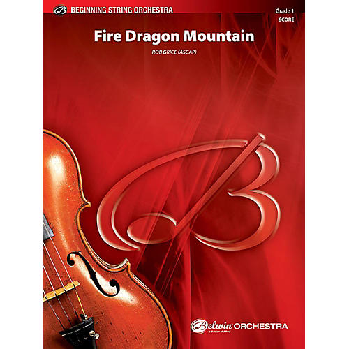 Alfred Fire Dragon Mountain String Orchestra Grade 1 Set thumbnail