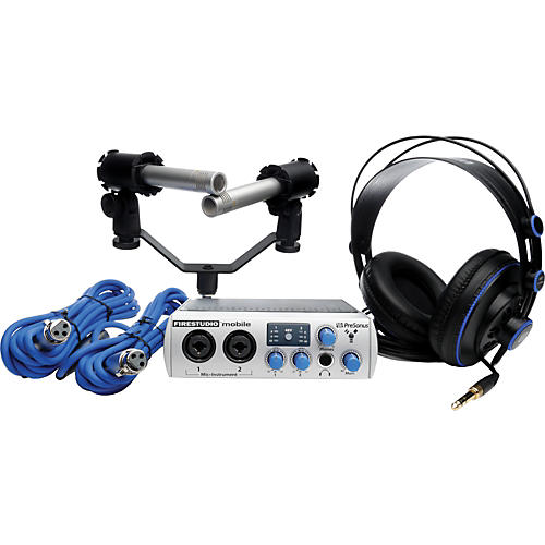 PreSonus FireStudio Mobile Recording Bundle thumbnail