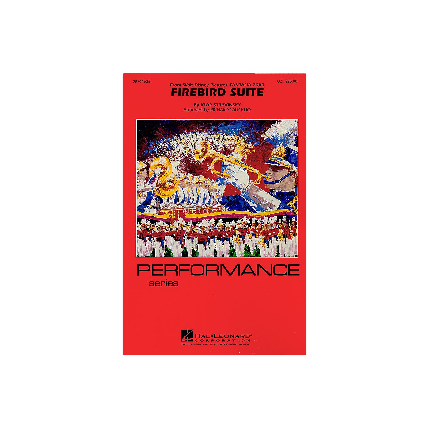 Hal Leonard Firebird Suite  (from Fantasia 2000) Marching Band Level 4 Arranged by Richard Saucedo thumbnail