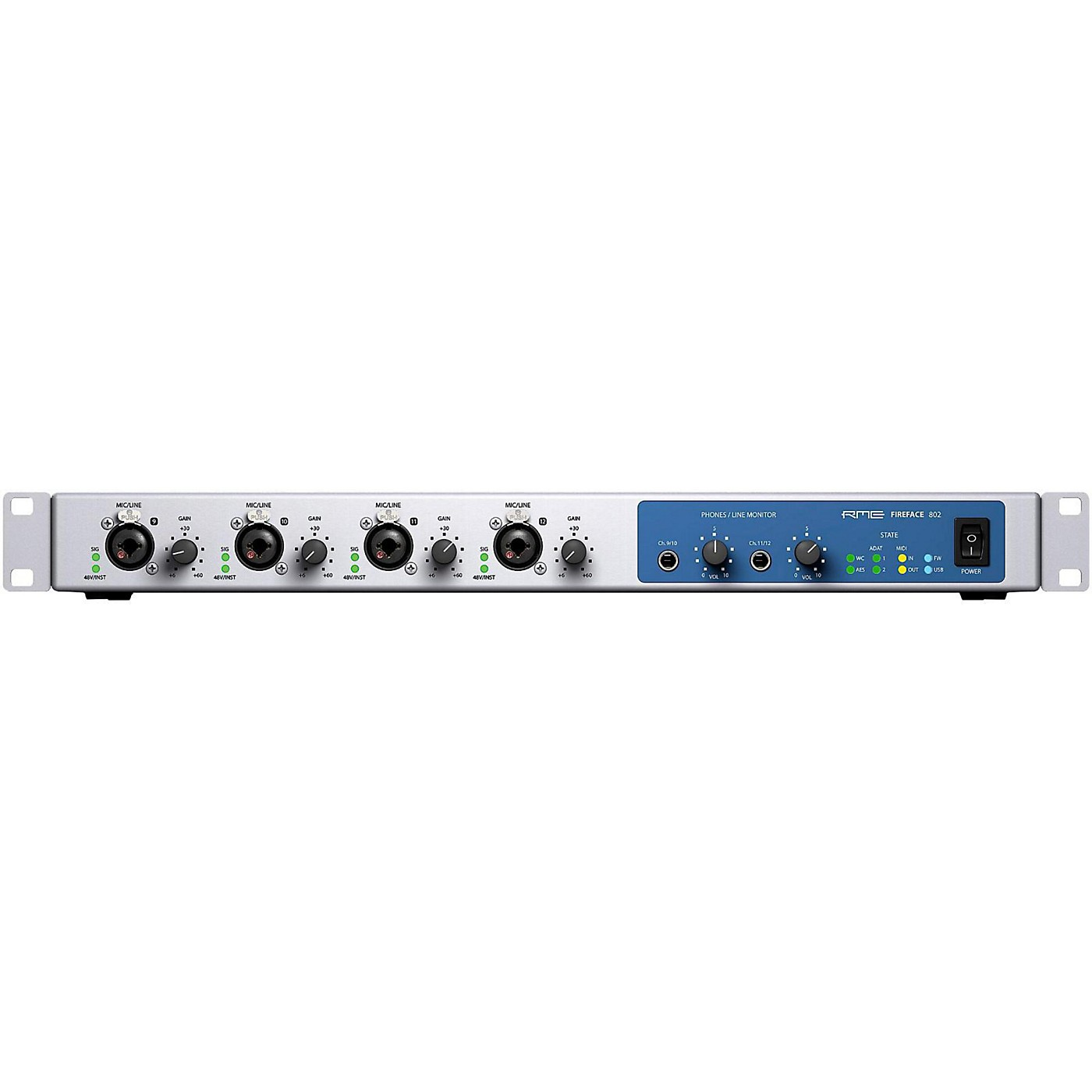 RME Fireface 802 USB/FireWire Audio Interface thumbnail