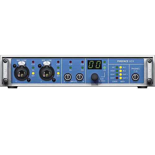 RME Fireface UCX 36-Channel USB 2.0 Audio Interface thumbnail