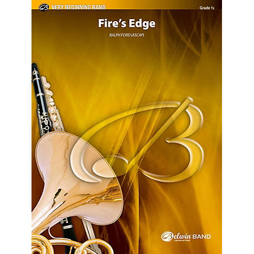 BELWIN Fire's Edge Concert Band Grade 0.5 (Very Easy) thumbnail