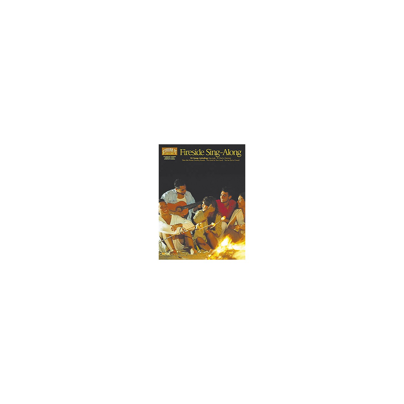 Hal Leonard Fireside Sing-Along Strum It Guitar Book thumbnail