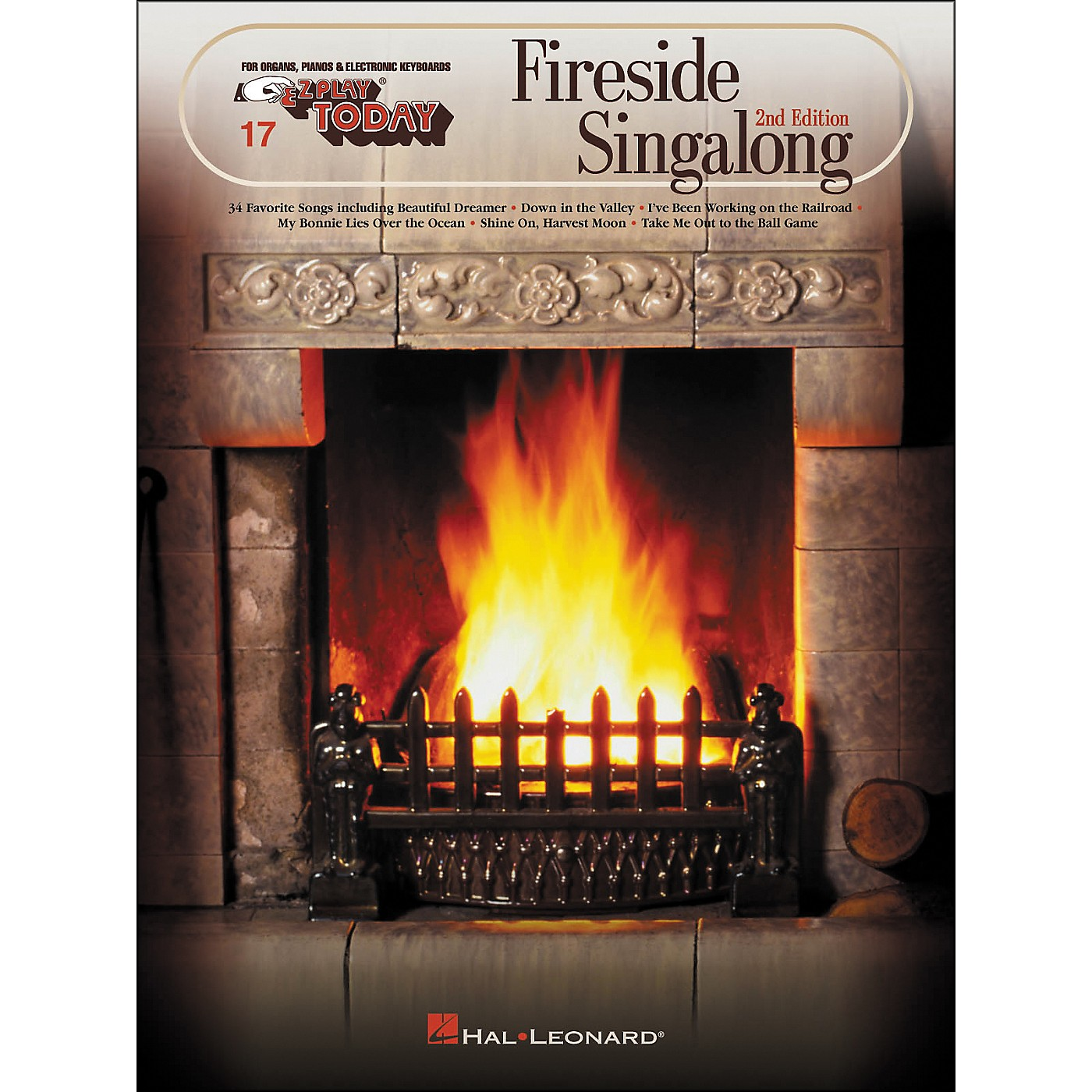 Hal Leonard Fireside Singalong Second Edition E-Z Play 17 thumbnail