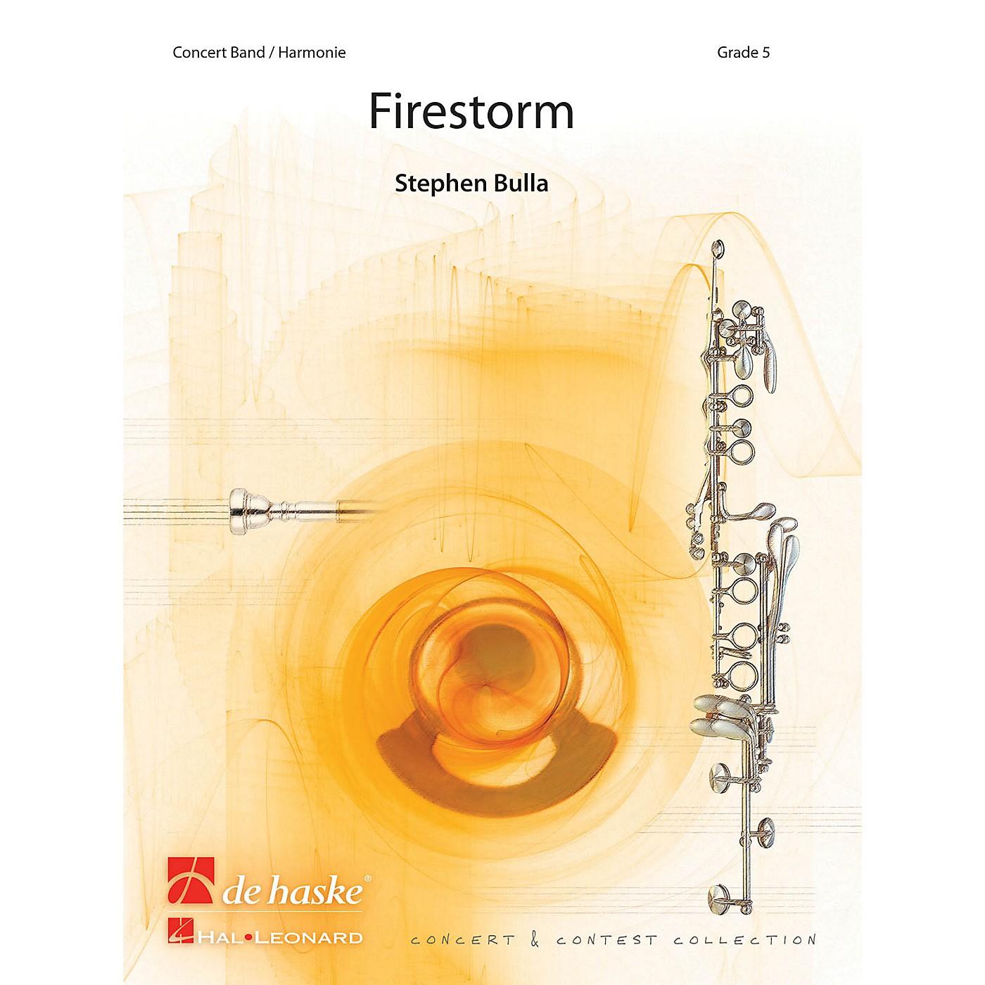 De Haske Music Firestorm (Score and Parts) De Haske Brass Band Series by Stephen Bulla thumbnail