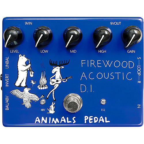 Animals Pedal Firewood Acoustic D.I. Effects Pedal thumbnail